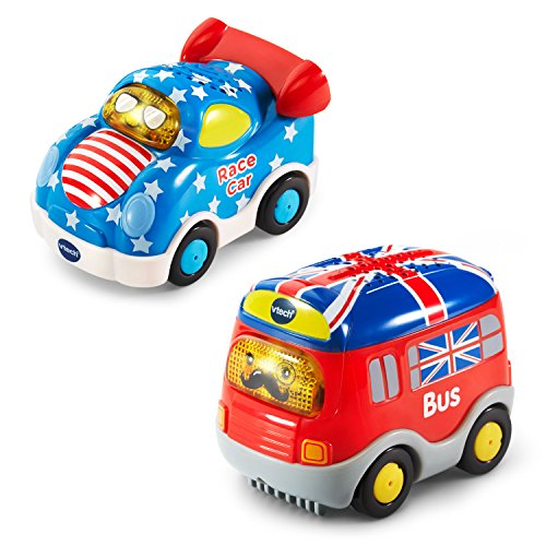 VTech Go! Go! Smart Wheels National Flag Vehicles 2-Pack Amazon Exclusive