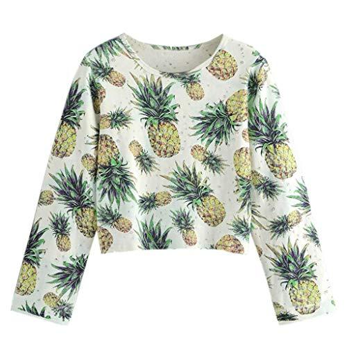 Keerads Shirt Longues Femmes Pour Capuche W Jaune Pullover Sweat Zq8dZ