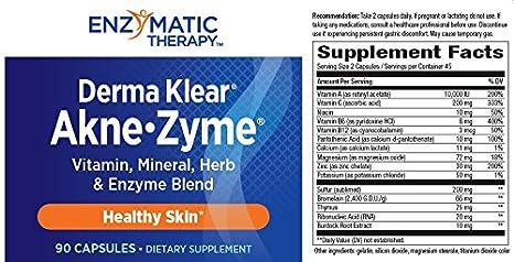 Amazon.com: enzimática terapia akne-zyme, 01059, 1, 1 ...