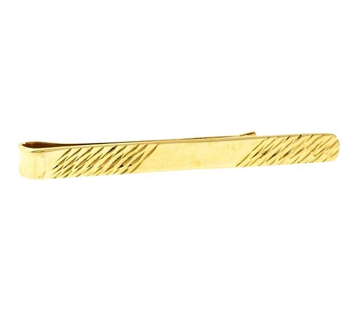 Alfiler de corbata de oro amarillo de 9 quilates (39 mm de ...