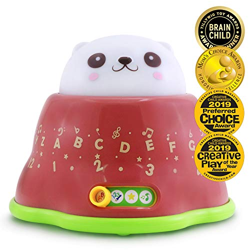 BEST LEARNING Whack and Learn Mole - Educational Interactive Light-Up Toy for Infants Babies Toddlers for 6 Month and up - Ideal Baby Toy Gifts (Award Winning Toys 1 Year Old Boy)