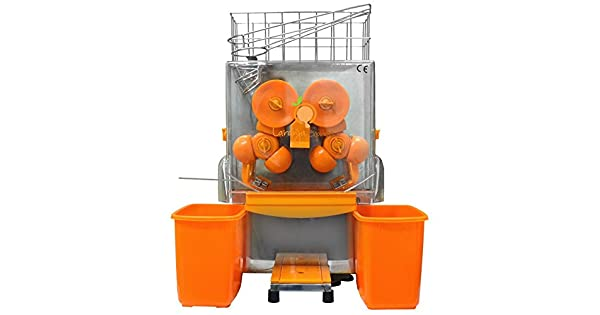 64177e81b4a Máquina Profissional LARANJA EXPRESS para sucos de Laranja e outros  cítricos 220V  Amazon.com.br  Cozinha
