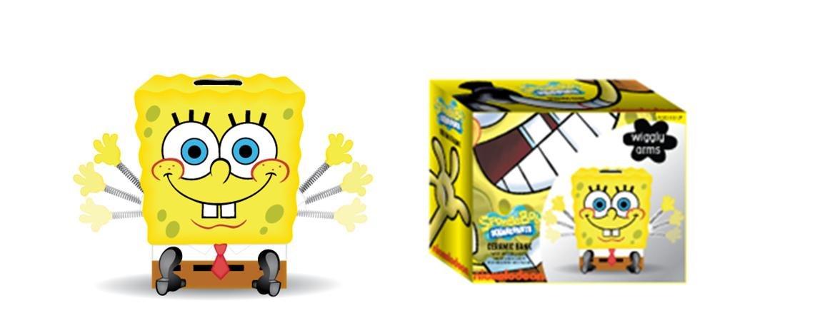 SpongebobセラミックWiggle Hand Coin Bank   B018F5ITMC