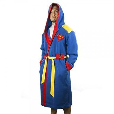 Amazon.com: Superman Hooded Robe with Belt: Clothing