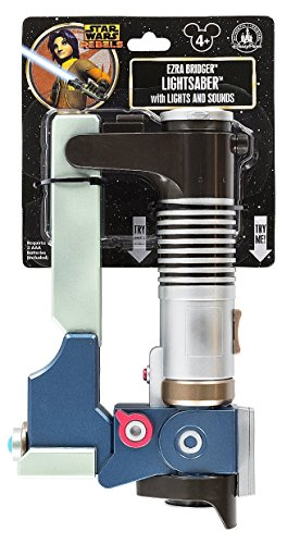 Disney Parks Exclusive Star Wars Rebels Ezra Lightsaber ()