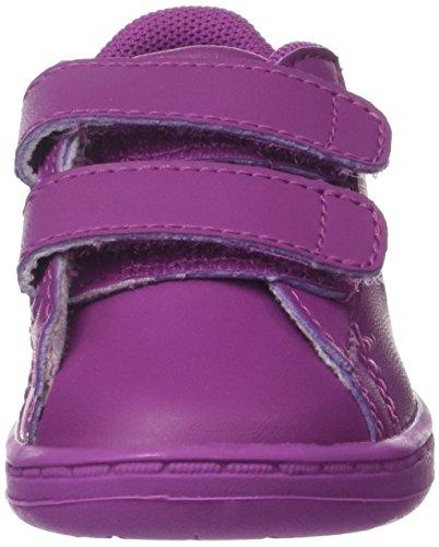 Lacoste Carnaby Evo 317 5, Entrenadores Unisex Bebé Morado (Violet Purp)