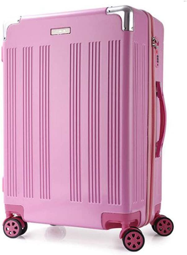 JINPENGRAN Travel case Portable Luggage Large Capacity Suitcase rotatable Pulley,5,22 Pure Aluminum