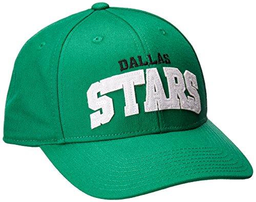 NHL Dallas Stars Women's SP17 Sequenced Structured Adjustable Cap, Green, One - Green Visor Reebok