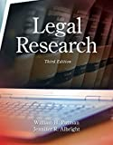 img - for Legal Research book / textbook / text book