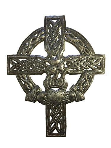 (Small Celtic Wall Cross, Love Friendship, Decorative Figurine, Handmade in Haiti 7