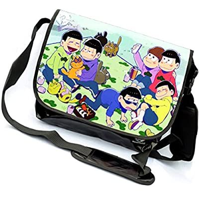 YOYOSHome/® Osomatsu kun Anime Osomatsu-san Cosplay Backpack Messenger Bag Shoulder Bag