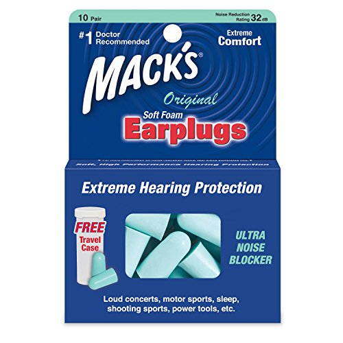 Macks Soft Foam Earplugs Pairs product image