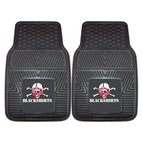 [FANMATS NCAA University of Nebraska Cornhuskers Vinyl Heavy Duty Car Mat] (Nebraska Car Mats)