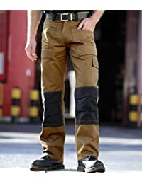 Forever Mens Dickies Multi Pockets Safety Workwear Cargo Trousers