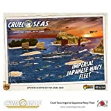 Cruel Seas Imperial Japanese Navy Fleet 1:300 WWII Naval Military Wargaming Plastic Model Kit