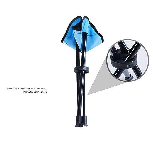 Silla Plegable Triangular Al Aire Libre, Mini Portátil Ligero Y ...