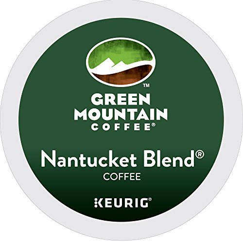 Green Mountain Coffee Nantucket Shade Keurig Single-Serve K-Cup Pods, Medium Roast Coffee, 24 Count
