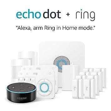 Amazon.com: Sistema de alarma de anillo para el hogar ...