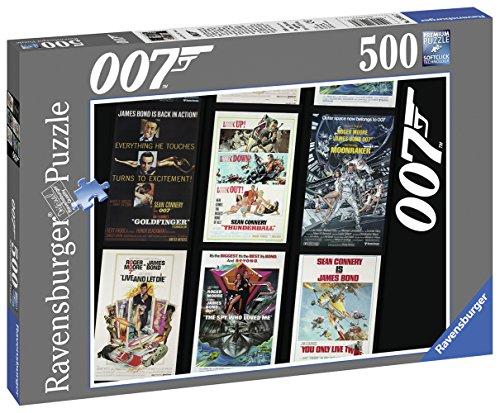 Price comparison product image Ravensburger James Bond 007 Retro Puzzle (500-piece)