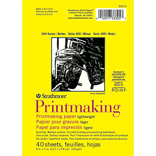 Strathmore (333-5 300 Series Lightweight Printmaking, 5