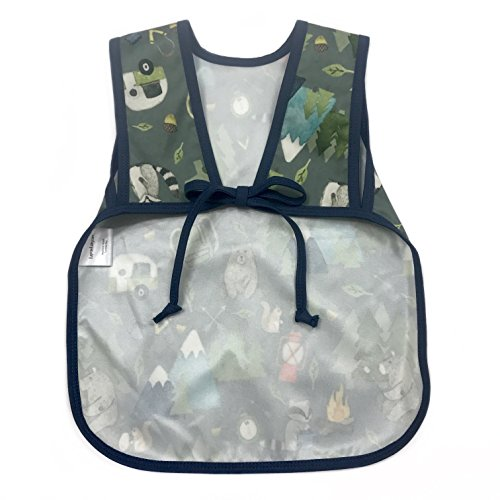 Camping Bears Toddler Bapron for 6m-3T by BapronBaby (Image #1)