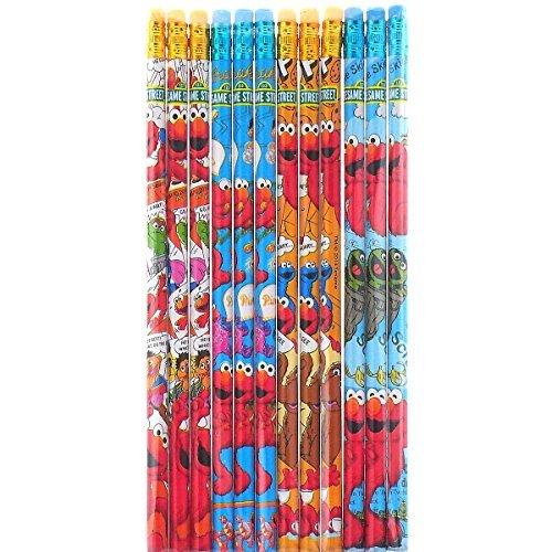 Elmo Nice Design 12 Wood Pencils Pack