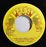 Harper Valley PTA / The Girl Most Likely 45RPM Jeannie C. Riley