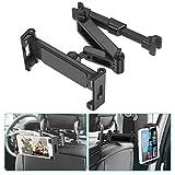 Car Headrest Mount - SAWAKE Angle Adjustable Headrest Tablet Mount - Universal Tablet Holder for Car Backseat - for 5