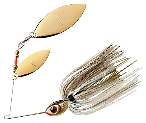 BOOYAH Blade - Double Willow Blade - Gold Shiner - 1/2 oz (Gold Spinner)