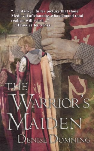 book cover of The Warrior\'s Maiden