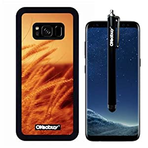Galaxy S8 Case, Golden dog tail grass Case, OkSoBuy Ultra Thin Soft Silicone Case for Samsung Galaxy S8 - Golden dog tail grass