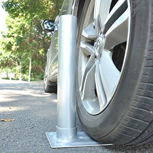"2.4"" D. Metal Tire Mount Tailgate Wheel Stand Flag Pole Pole Holder 25' 20' FT (Outdoor Lounge Furniture Johannesburg)"