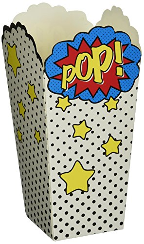 Comic Superhero Party Popcorn Party Boxes