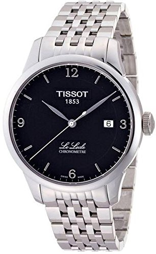 Tissot Mens Le Locle Chronometre Black Dial Mens Watch T006.408.11.057.00