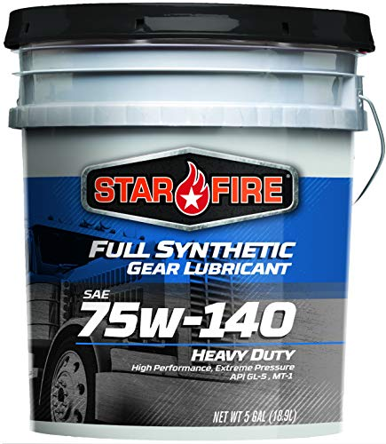 (StarFire Full Synthetic 75W140 Gear Lubricant 5 Gallon Pail)