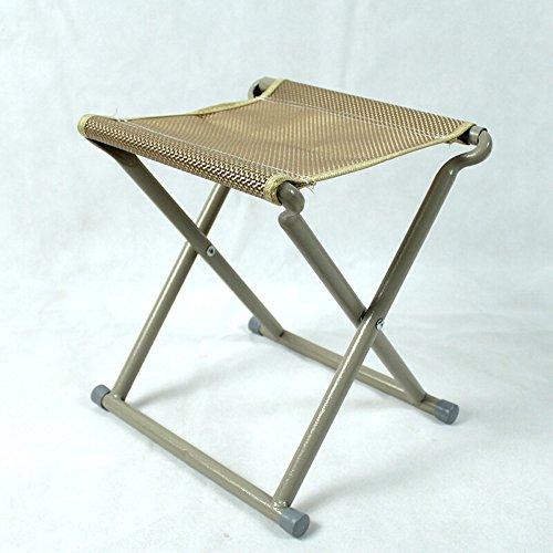 LQQGXL European chair Folding stool portable pony stool stool outdoor fishing stool fishing chair without backrest folding (29 23 29cm) by LQQGXL