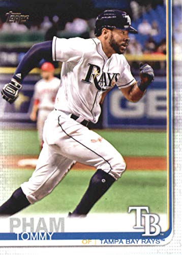 2019 Topps Series 1 Baseball #175 Tommy Pham Tampa Bay Rays Official MLB Trading Card