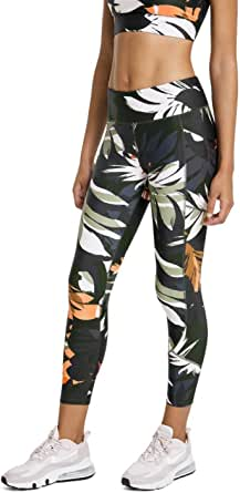 Rockwear Activewear Women's Autumn Haze Ag Print Panel Tight from Size 4-18 for Bottoms Leggings + Yoga Pants+ Yoga Tights