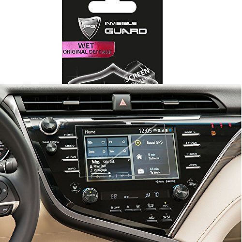For Toyota Camry 2018 NAVIGATION 7´ Touch Screen Radios Screen Protector Invisible Ultra HD Clear Film Anti Scratch Skin Guard - Smooth / Self-Healing / Bubble -Free By IPG