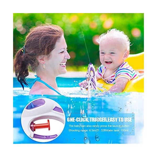 Zaloife Pistole ad Acqua, 3 Pack Water Squirt Gun per Water Fight, Super Water Pistol Guns per Bambini Adulti, Spiaggia… 3 spesavip
