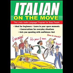 Italian on the Move Audiobook
