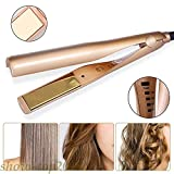 Best Curling Iron 1 1 2s - 2-in-1 Styler Straightener and Curling Iron in One Review
