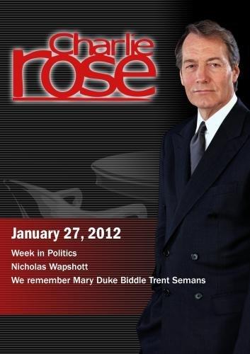 Charlie Rose - Week in Politics / Nicholas Wapshott / We remember Mary Duke Biddle Trent Semans (January 27, 2012) [DVD] [NTSC] by