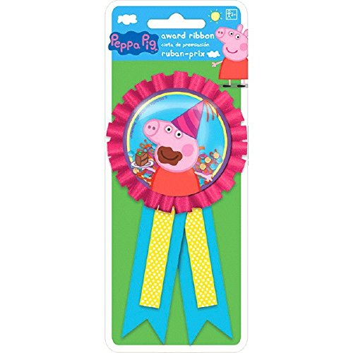 amscan Confetti Pouch Award Ribbon | Peppa Pig