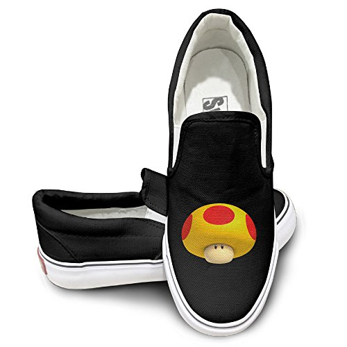 [OOONG Super Mario Casual Slip On Canvas Shoes Flats 44] (Male Figure Skater Costume)