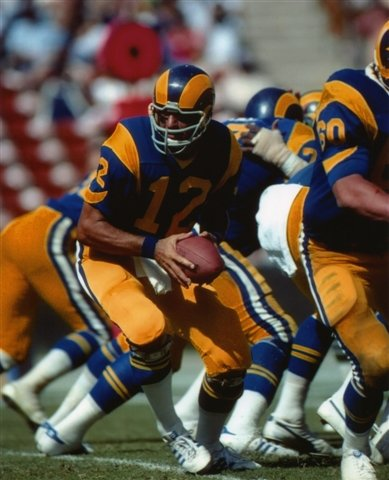 JOE NAMATH LOS ANGELES RAMS 8X10 SPORTS ACTION PHOTO (9)
