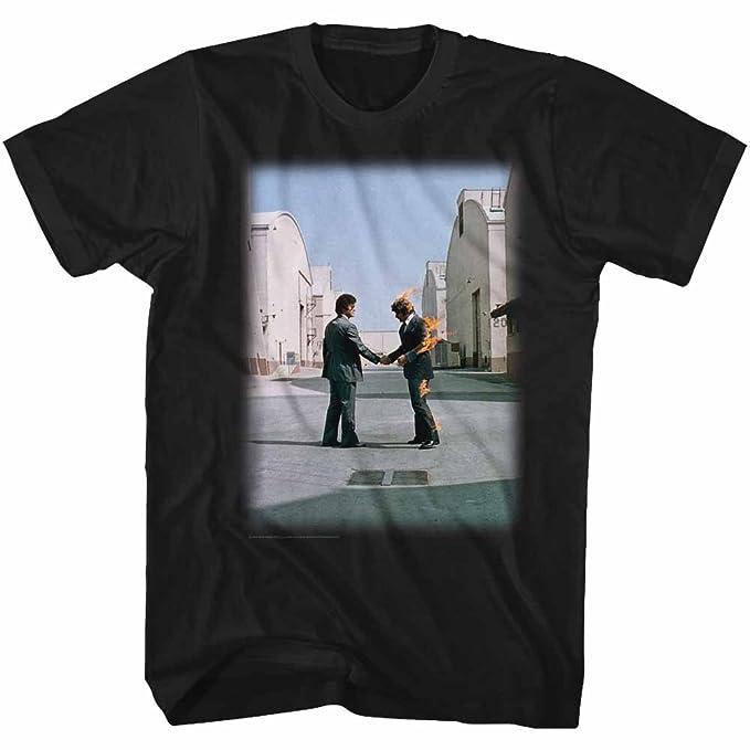 7eecdf28 Amazon.com: Pink Floyd T-Shirt Wish You were Here Album Cover Black Tee:  Clothing