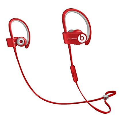 5cc1d6967ff Amazon.com: Beats by Dr dre Powerbeats2 Wireless In-Ear Bluetooth Headphone  with Mic - Red (Renewed): Home Audio & Theater