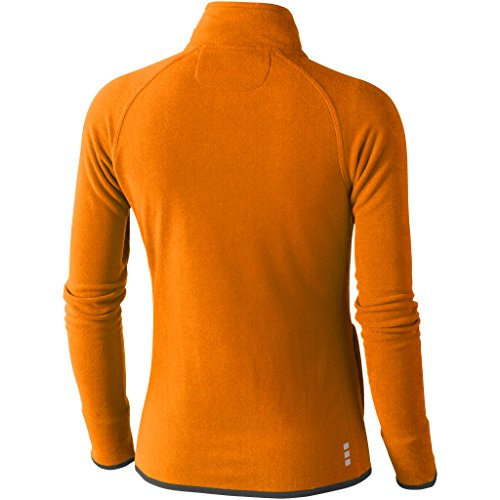 Elevate Mujer Modelo Chaqueta Naranja Tejido Polar Micro Brossard Para 1xwR1Zzrq
