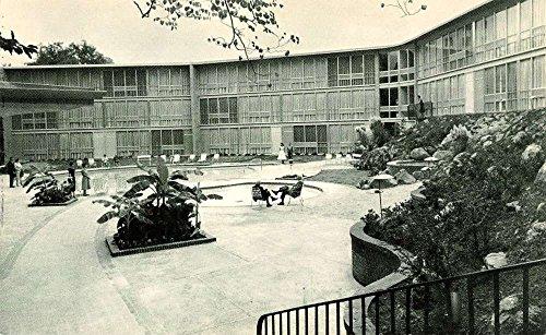 Hot Springs North Carolina ? Majestic Lanai Suites Pool View Vintage Postcard K41625